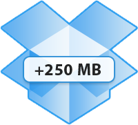250 mb aggiuntivi