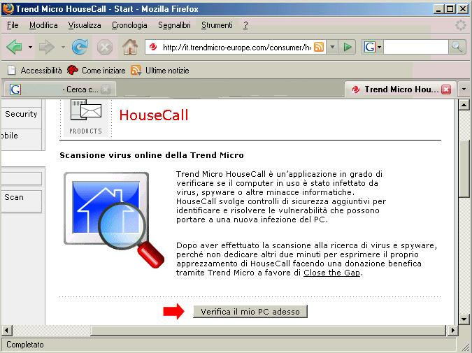 Immagine di Trend Micro House Call