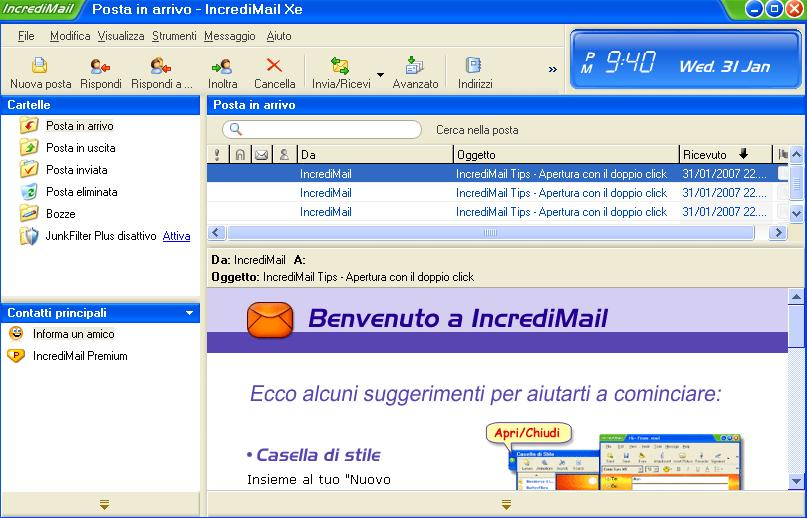 Immagine di Incredimail Xe